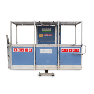 Transport platforms with racks, for persons and material | CRAMO