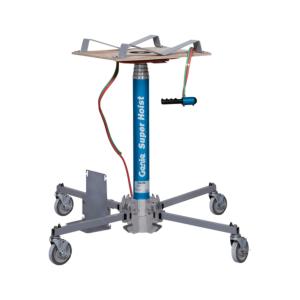 Material hoist, pneumatic/gas operated  =150kg, H=6m | CRAMO